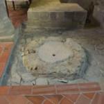 I resti del fonte battesimale del III sec.