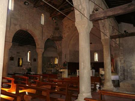 L'interno della Chiesa