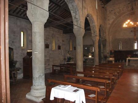 La navata sinistra